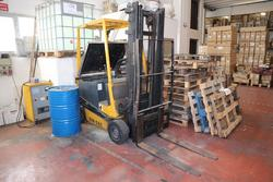 Robustus forklift and Bassi Group battery charger  - Lot 165 (Auction 2085)