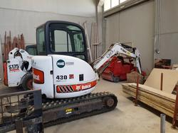 Excavator Bobcat - Lot 156 (Auction 2098)