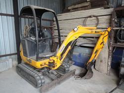 JCB mini excavator - Lote 9 (Subasta 2100)