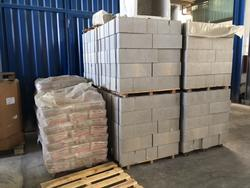 Storm drains Rei blocks and sacks of ready mixed mortar fire - Lot  (Auction 2110)