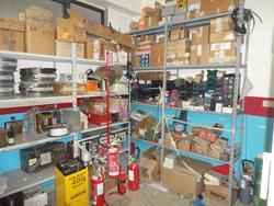 Stock di attrezzatura elettronica e materiale elettrico - Lotto 12 (Asta 2125)
