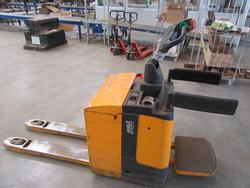 Shopping Cart Jungheinrich Ere 120 pallet truck - Lot 4 (Auction 2129)