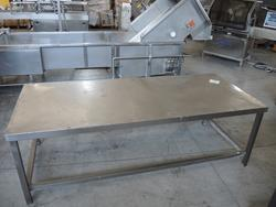 Steel Table - Lot 12 (Auction 2173)