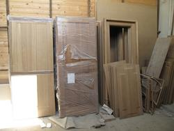 Solid Durmast Wooden Doors - Lot 4 (Auction 2199)