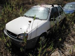Ford Fiesta Car - Lot 7 (Auction 2199)