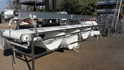 Stainless steel conveyor belt - Lot 13 (Auction 2203)