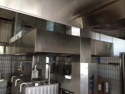 Cappa da ristorazione in acciaio inox - Lotto 421 (Asta 2203)