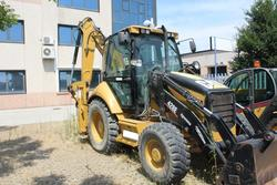 Caterpillar 428 backhoe - Lot 19 (Auction 2208)