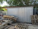 Immagine 4 - Box attrezzi in lamiera e bagno da cantiere - Lotto 30 (Asta 2226)