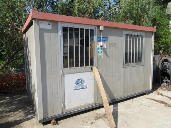 Box Ufficio Alluminio Usato : Lotto box ufficio e bagno da cantiere