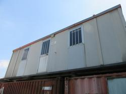Box office and toilet for construction site - Lot 39 (Auction 2226)