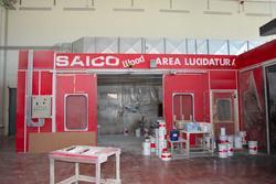 Cabina di verniciatura Saico - Lotto 22 (Asta 2230)