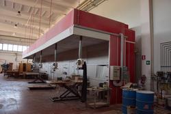 Saico sanding booth - Lot 23 (Auction 2230)