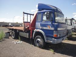 Autocarro Iveco 145 con gru Fassi F115 IVECO 14517