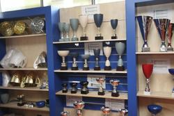Stock trofei sportivi e stampi - Lotto 2 (Asta 2243)