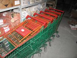 Stock of aluminum stairs and shopping carts - Lot 3 (Auction 2249)