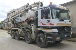 Mercedes 4143K 8x4 concrete pump - Lot 28 (Auction 2272)