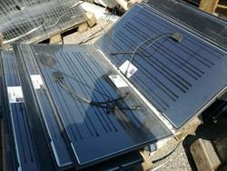 Stock di 2000 Pannelli Solari Fotovoltaici Abound Solar - Asta 2277