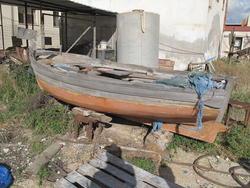 Wooden Sailboat - Lot 17 (Auction 2292)
