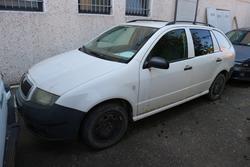 Autocarro Skoda Fabia e autovettura Fiat Marea - Lotto  (Asta 2308)
