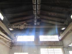 Venturini doble beam bridge crane  and Bwt softner - Lot 1 (Auction 2311)