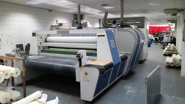 1#2312 Reggiani Macchine Impianto per stampa tessuti Renoir 180