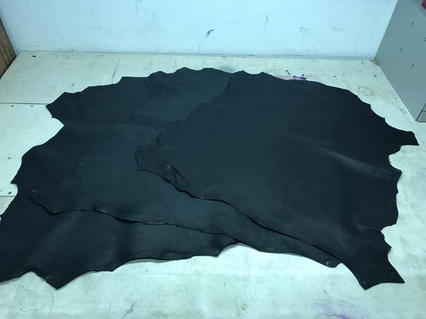 12#2342 Pellame incrociato crust Nigeria di colore nero