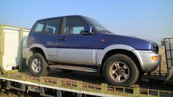 Nissan Terrano car - Lot 3 (Auction 2366)