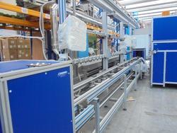 Linea di assemblaggio e collaudo componenti elettrici Felmec - Asta 2390
