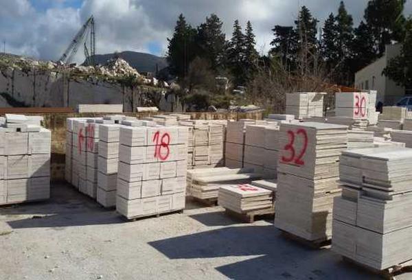 1#2423 Blocchi in marmo e marmette
