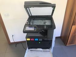 Sharp MX DE 12 Multifunction Printer and Canon BJ W3000 Plotter - Lot  (Auction 2428)