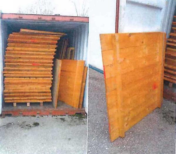 103#2431 Ripiani in legno per scaffalature