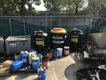 Contenitori per stoccaggio di rifiuti - Lotto 135 (Asta 2431)