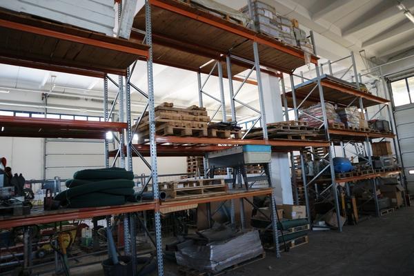 La Fortezza Scaffali.Lotto Scaffalatura Metallca Industriale La Fortezza