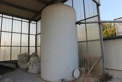 Serbatoio di stoccaggio acqua in pvc - Lotto 300 (Asta 2434)