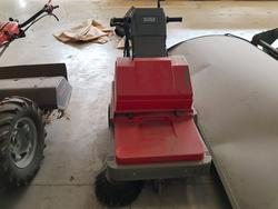 Electric sweeper high pressure water jet machine and Mower  - Lot 42 (Auction 2442)