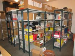 Warehouse shelving - Lot 32 (Auction 2445)