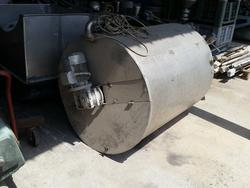 Stainless steel tank - Lot 12 (Auction 2447)