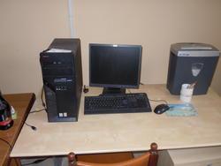 Arredamento e attrezzature da ufficio Hp Brother Lenovo e Zanussi - Lotto  (Asta 2462)