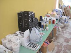 Stock di prodotti ed attrezzature per estetista - Lotto 14 (Asta 2503)