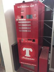 Laservideo automatic vending machine for cigarettes - Lot 3 (Auction 2522)