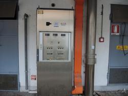 Steel control panel - Lot 138 (Auction 2536)