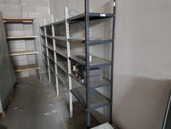 Shelving and metal stairs - Lot 3 (Auction 2579)