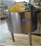 Immagine 1 - Bacinella in acciaio inox lt.100 - Lotto 20 (Asta 2612)