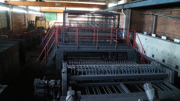 1#2616 Impianto automatico produzione rete elettrosaldata Beta System