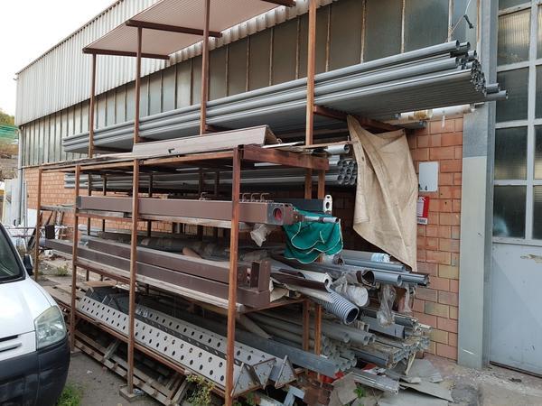 3#2694 Profilati metallici per lavorazione tendaggi