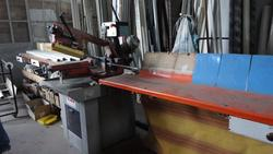 Effer squaring machine and bench IBP sawing machine - Lot 1 (Auction 2695)