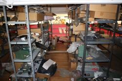 Shelving and spare parts for motorcycles - Lot 29 (Auction 2697)