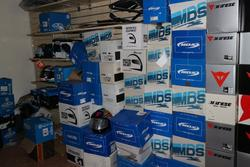MDS motorcycle helmets - Lot 306 (Auction 2697)