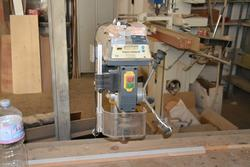 Quantum radial drill and OMC band saw - Lot 7 (Auction 2734)